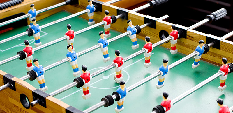 foosball table buying guide